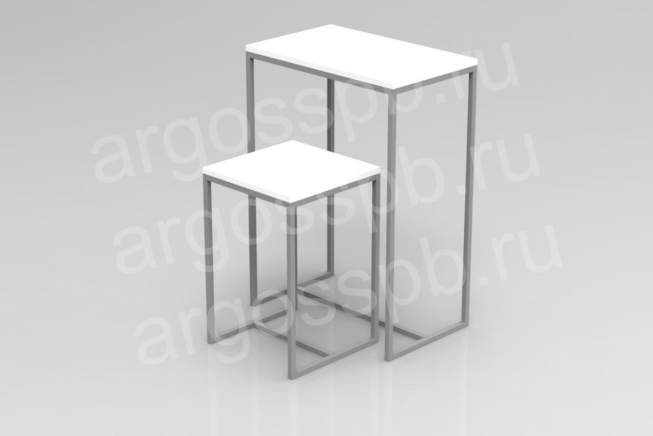 Комплект столов белый СТ 102