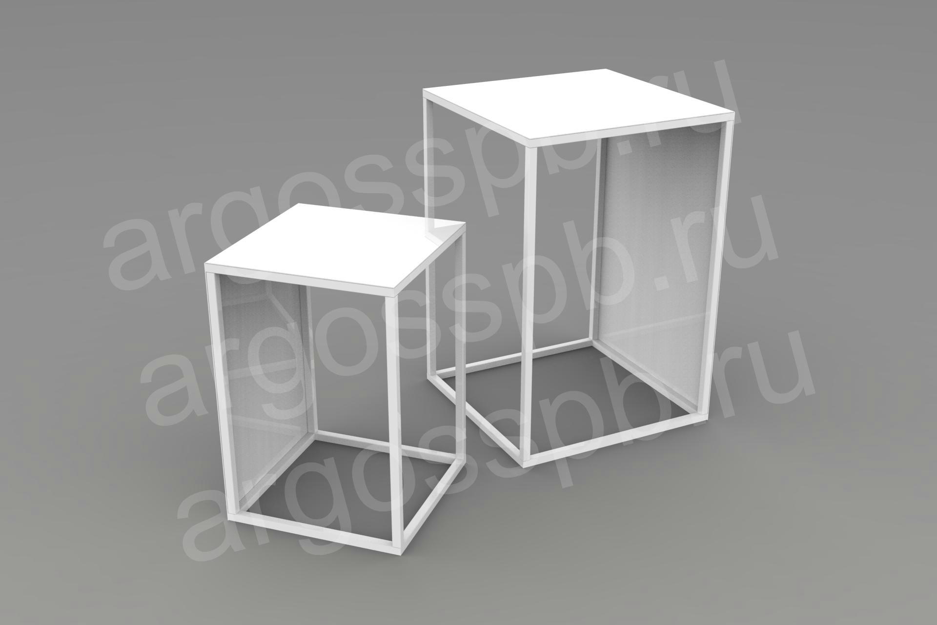 Комплект столов белый СТ 104