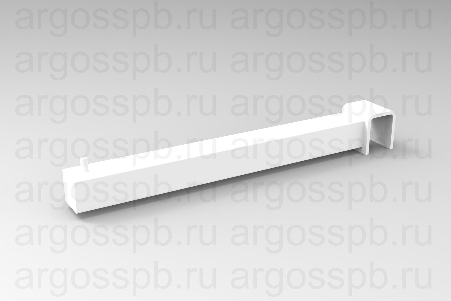 Зацеп фронтальный односторонний белый ТО 160