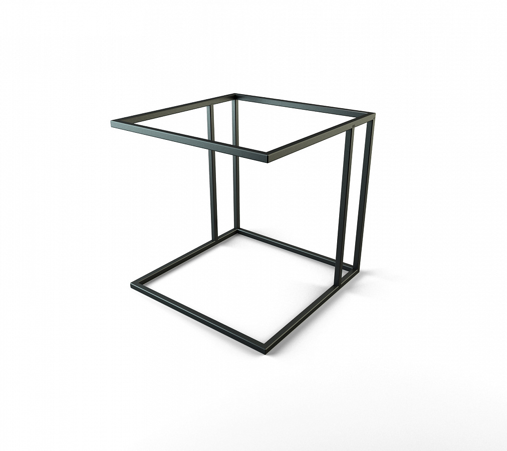 Темный прикроватный столик